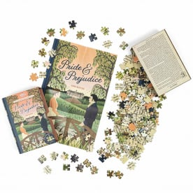 A unique gift this Christmas! Jigsaw Library Puzzle Books in stock now