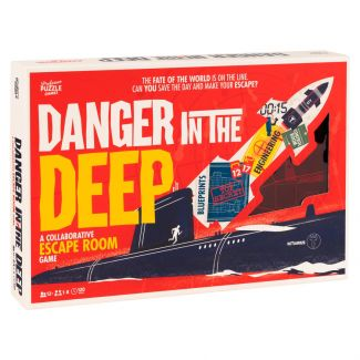 Danger in the Deep Escape Room Game by Professor Puzzle