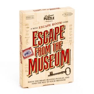 Escape from the Museum Professor Puzzle Escape Room Game